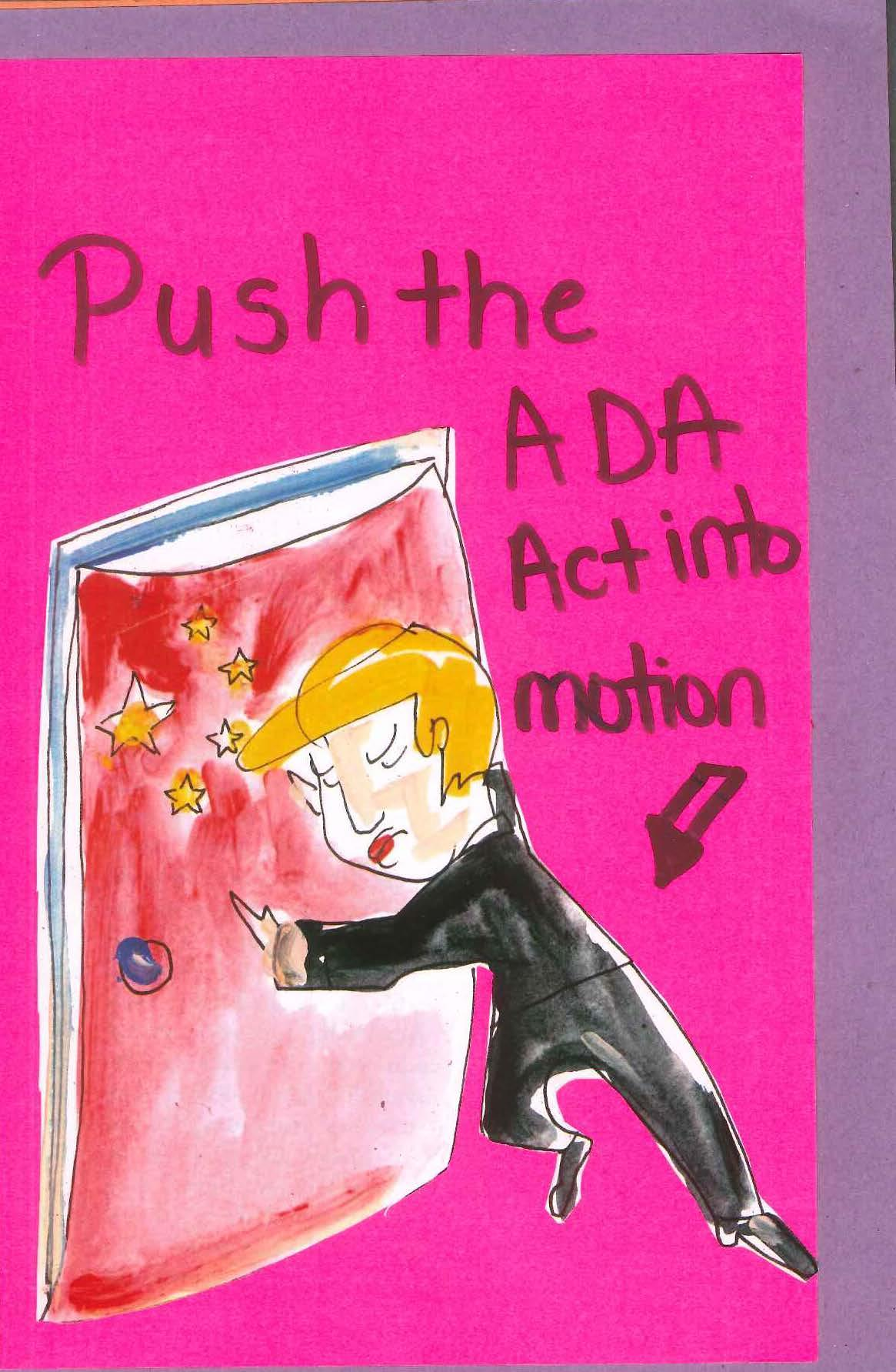 """Push the ADA into motion"""