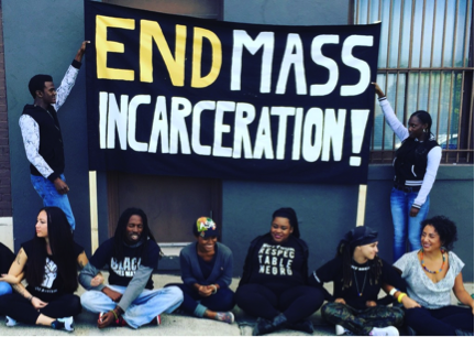 End Mass Incarceration Sign