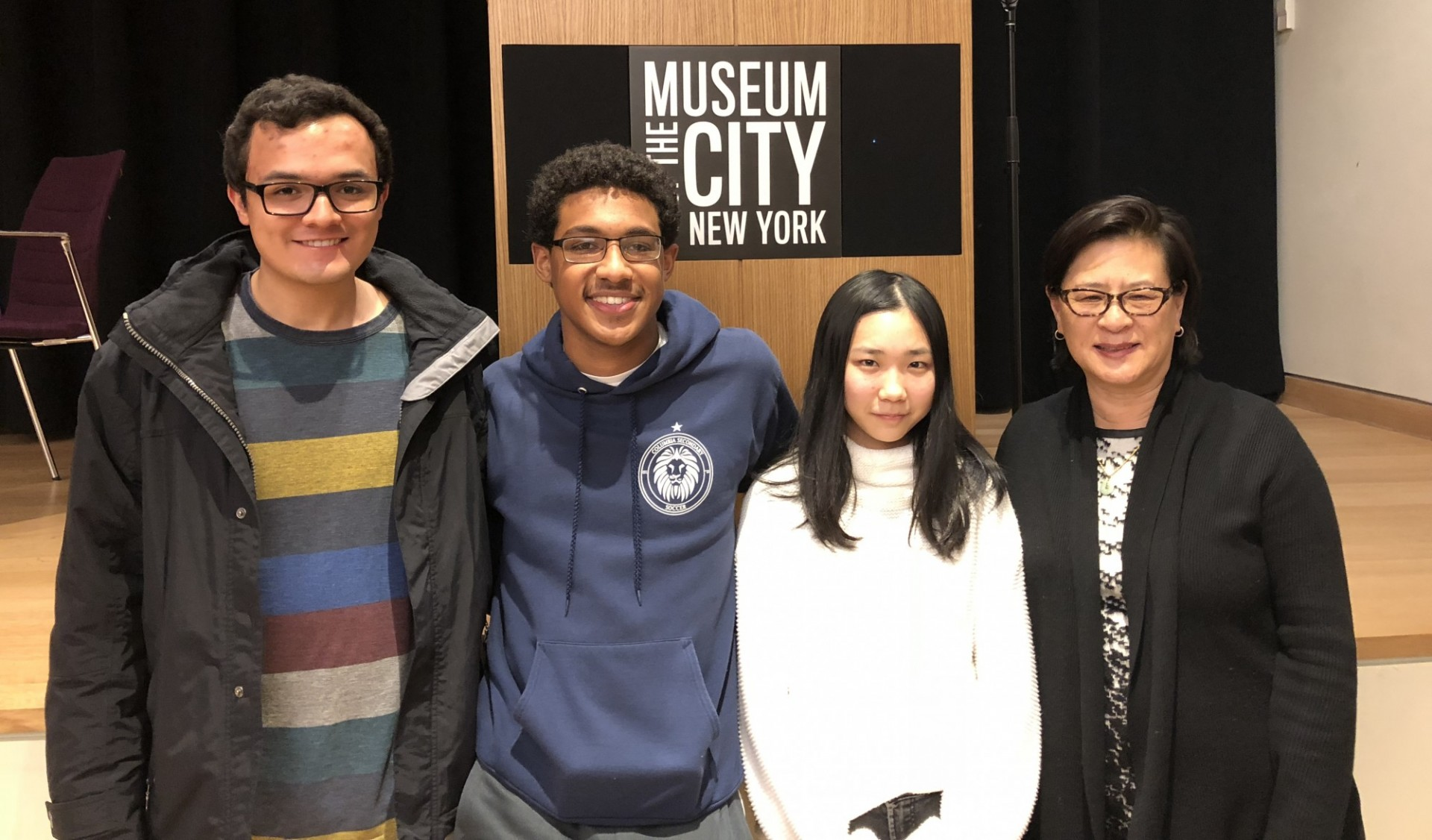 Students at the Museum of the City of New York