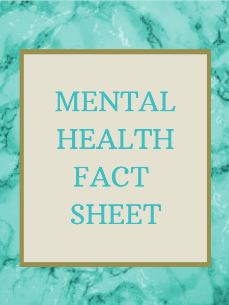 mental health fact sheet