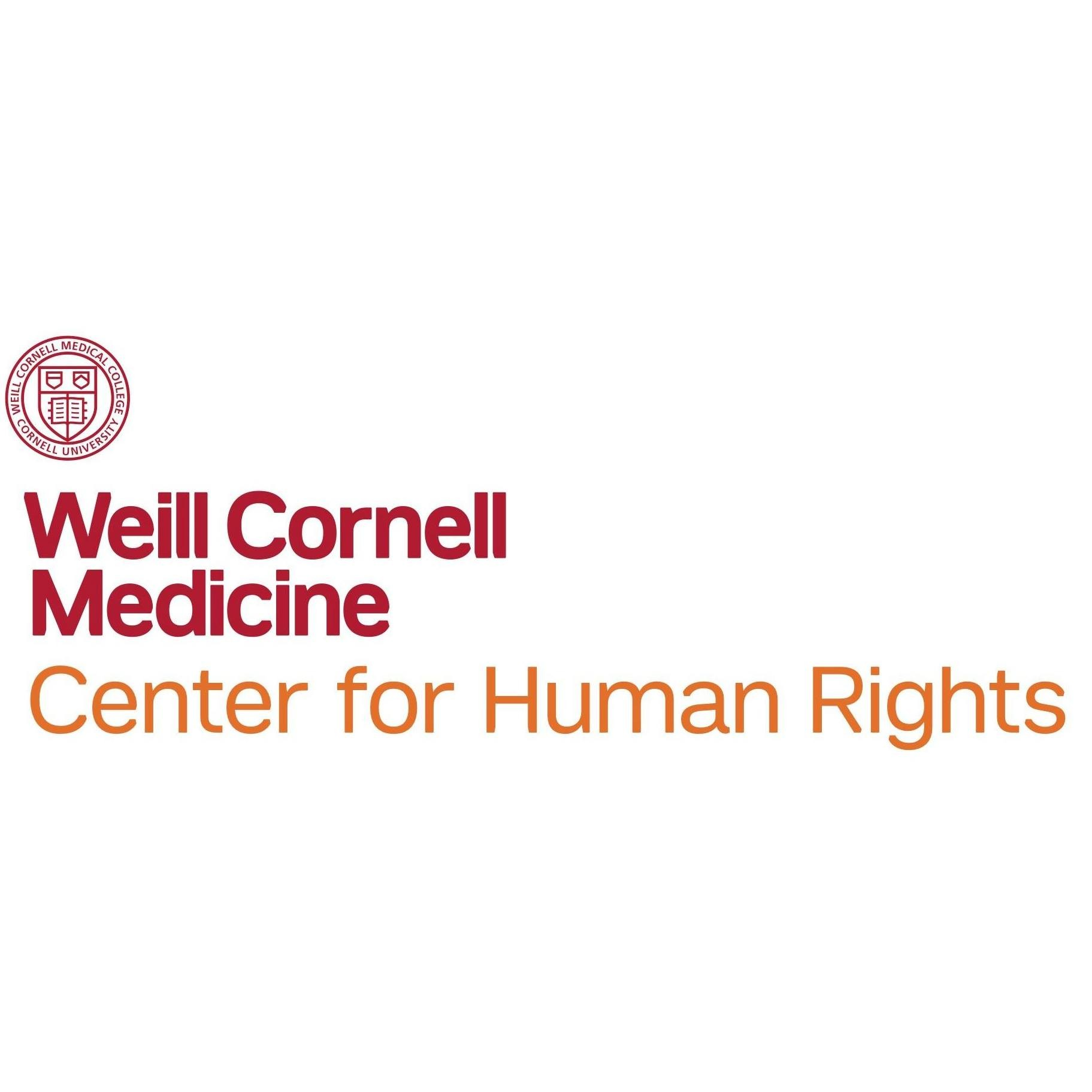 Weill Cornell Medicine Center for Human Rights logo