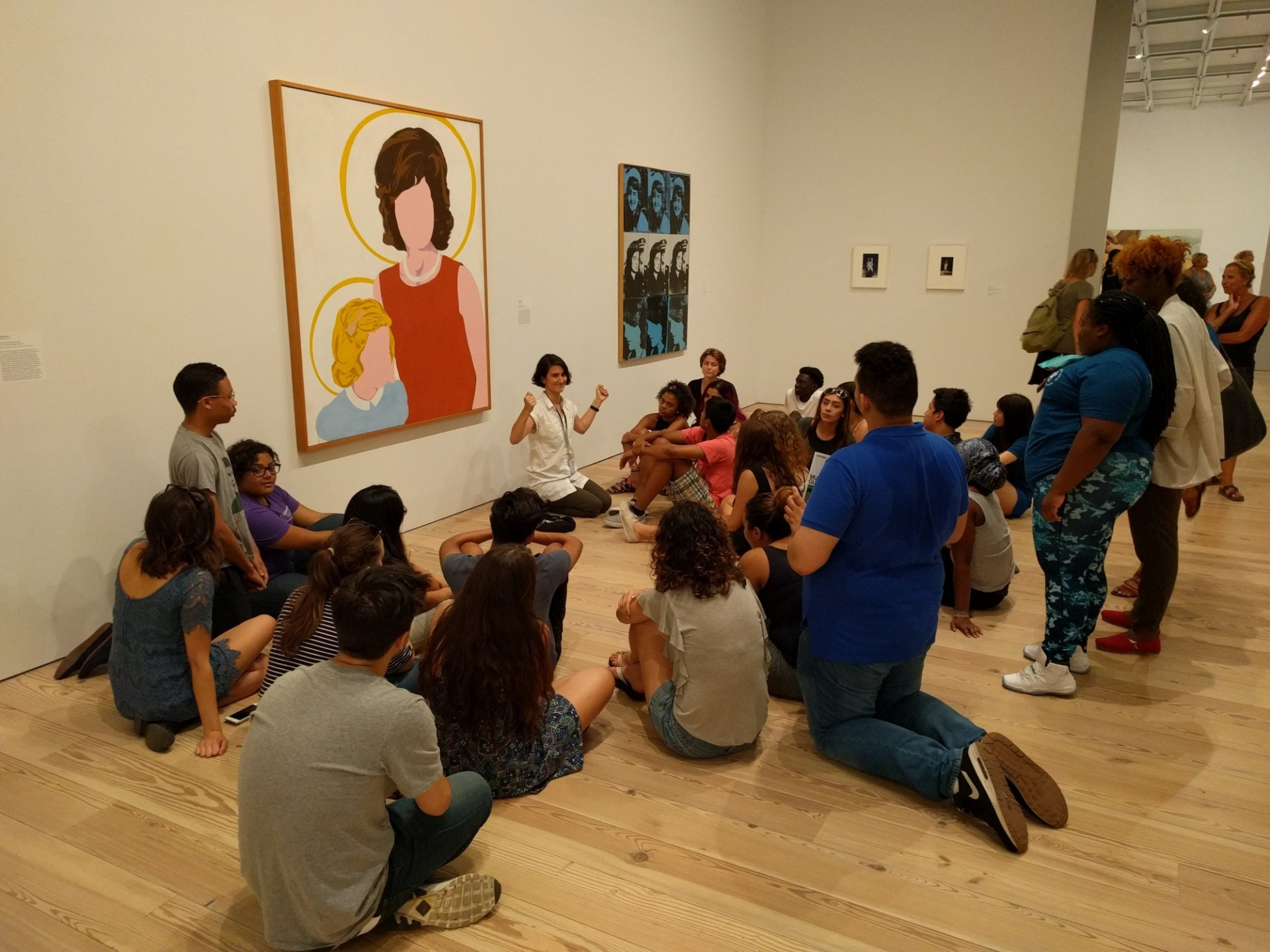 students at the whitney