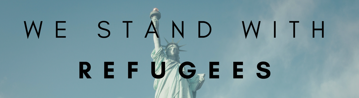 We Stand with Refugees